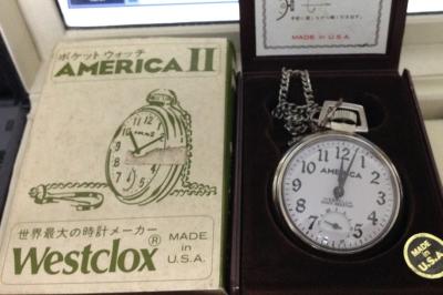 自宅懐中時計3